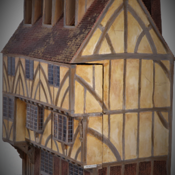 45 Goodramgate House (York, England) Tudor Dollhouse Peter Mattinson - Dolls