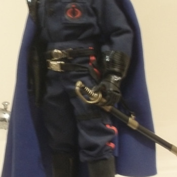 Custom G.I.Joe real american hero Cobra Commander - Toys