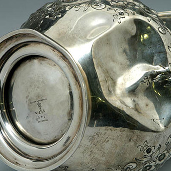 Durgan Sterling Water Pitcher Restoration - Silver