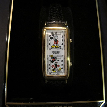 Micky and Minnie dual face watch - Wristwatches