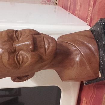 Buste d'un sage africain - Fine Art