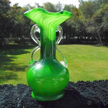 Beautiful Ruffled Vase