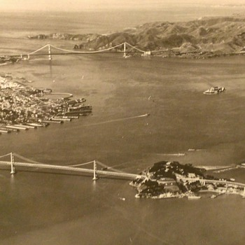 San Francisco 1939 Arial View - Photographs
