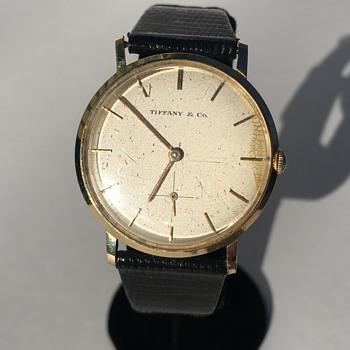 Vintage Tiffany & Co. Wrist Watch 14k Gold