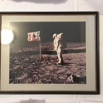Moon-spiricy! Color Photo of Apollo 11! - Photographs