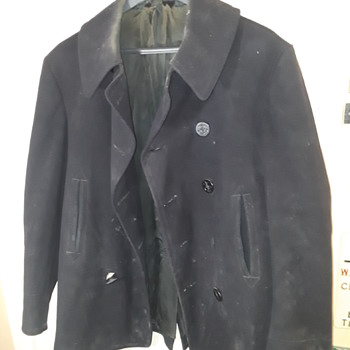 vintage U.S. Navy 'pea coat' - Military and Wartime