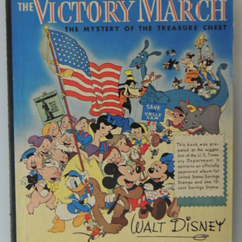 THE VICTORY MARCH - Advertising