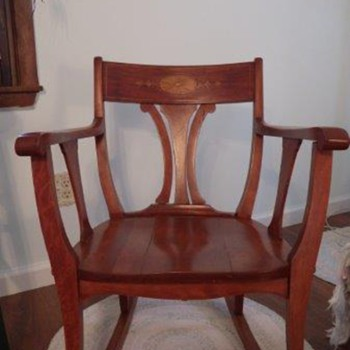 My parents rocking chair