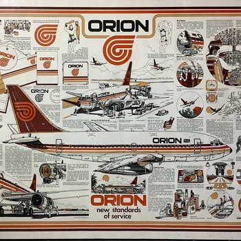 Orion New Standards of Service Poster