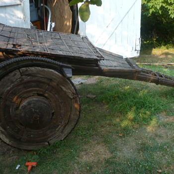 Ancient Horse Drawn Wagon - Origin? - Tools and Hardware