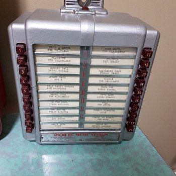 Beautifull Seeburg Wall Box Model 3W2-L56 1946 - Coin Operated