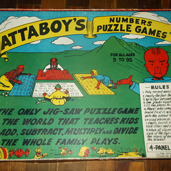 Attaboy's Numbers Puzzle Games