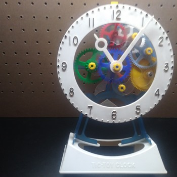 Hubley Tic Toy Clock - Toys