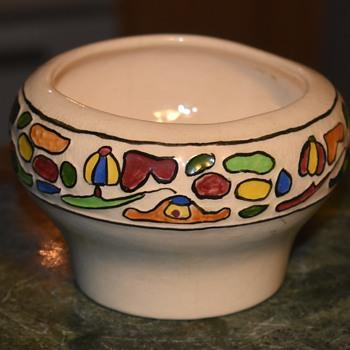 Art Nouveau Vessel by Claire - Pottery