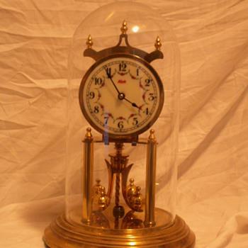 Vintage Kundo Torsion Pendulum Clock ~ West Germany - Clocks