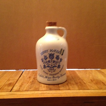 Antique Henry McKenna 1/2 gallon Whiskey jug