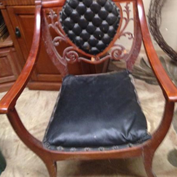 What era or type is the chair?