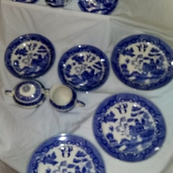 Beautiful Blue & White marked Japanese Porcelain -- What is it??