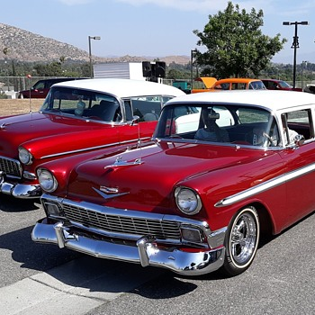 Free Bonus Fabulous 50s Post Car Show Bob's Big Boy Norco - Classic Cars