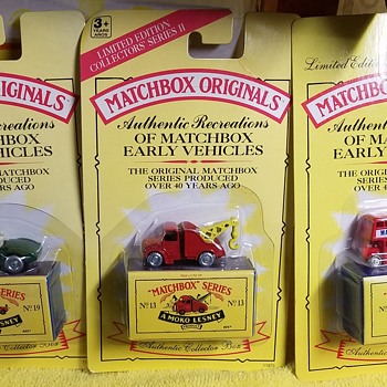 Matchbox Originals - Authentic Reproductions - Model Cars