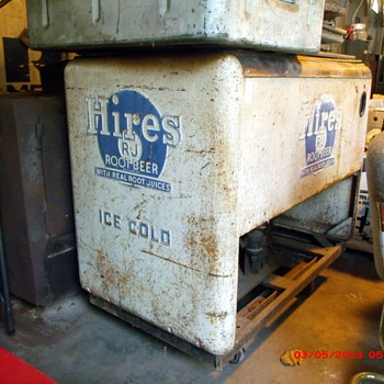 RJ Hires Root Beer Cooler  - Advertising