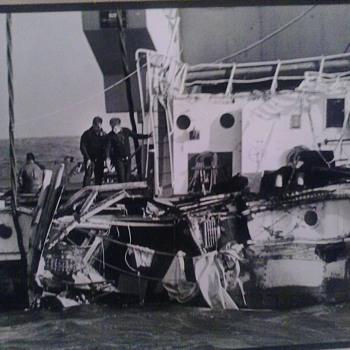 coast guard salvage of U.S.S.  Cuyahoga - Photographs