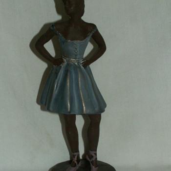 "'95 Alva © S. Eylanbekov ""Ballerina"" Statuette  - Pottery"