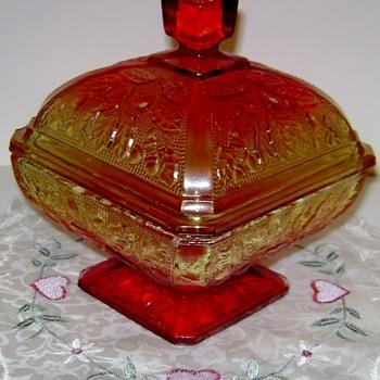 Jeanette Glass Pedestal Compote - Glassware