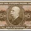 Brazil - (5) Cruzeiros Bank Note