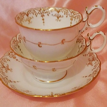 My very beautiful Victorian trio - China and Dinnerware