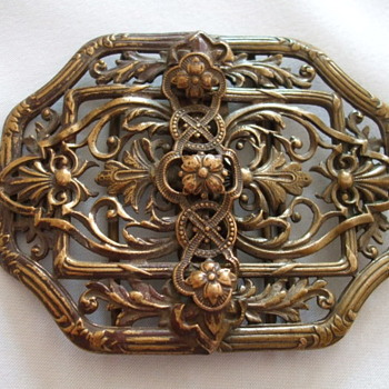 "Dating Old Brass ""Nurse's"" Buckle - Accessories"