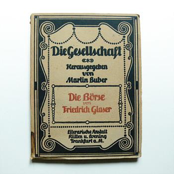DIE GESHELLSCHAFT books collection, Peter Behrens 1906