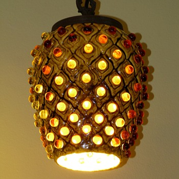 Thrift store find mid century lamp - Lamps