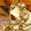 Estate Juliana Bracelet Just beautiful fire and light stones