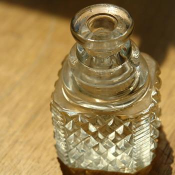 Diamond Cut Crystal Dug - Bottles