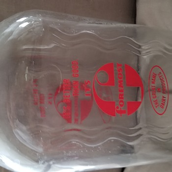 Foremost milk jug - Bottles