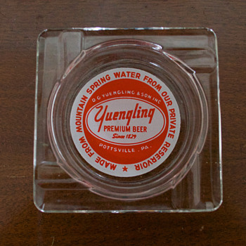 Two Vintage Brewery Ashtrays - Breweriana