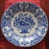 Large Delft blue porcelain plate