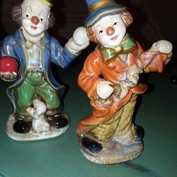 Clown Collection Identifying  - Figurines