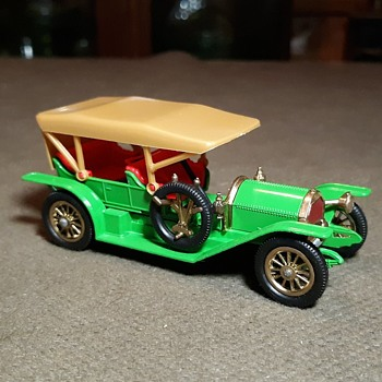 Much More Musty Matchbox Monday Model of Yesteryear Y-9 1912 Simplex 1968-1969 - Model Cars