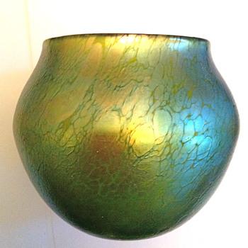 Loetz Bowl Vase - Art Glass