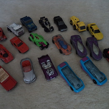 Hot Wheels - Model Cars