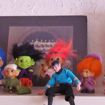The Pointy-Ear Patrol: Band of Trolls and Mr. Spock - Dolls