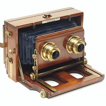 Lancaster's Stereo Instantograph, c.1891 - Cameras