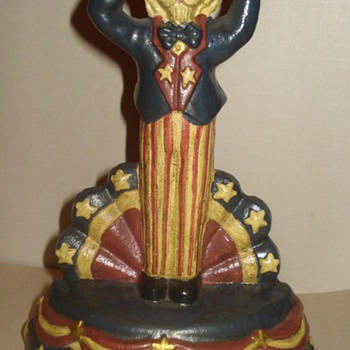 """HERE IS A DOOR STOPPER """"UNCLE SAM"""" """"ADDED NEW PIC."""" - Tools and Hardware"""