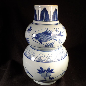 Chinese Double Gourd Vase - China and Dinnerware