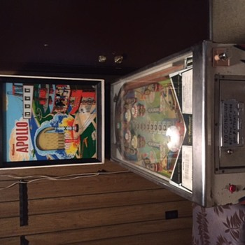 Williams Apollo pinball machine 1967 - Games