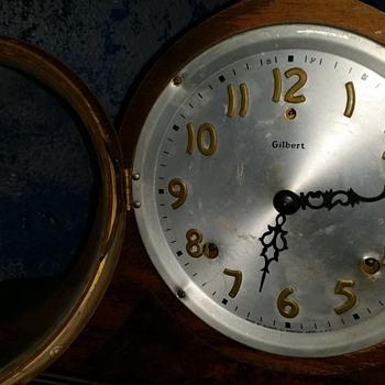 Gilbert Clock Questions - Clocks
