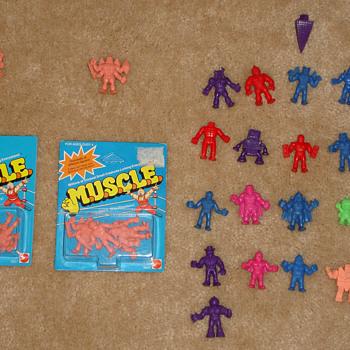 M.U.S.C.L.E. (Mattel toy line) - Toys