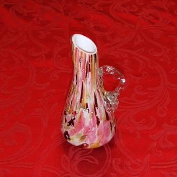 Victorian Art Glass Ewer - Art Glass